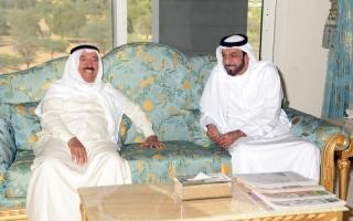محمد بن راشد ومحمد بن زايد: تهــانينا إلى كويت المحبة قيادة وشعباً