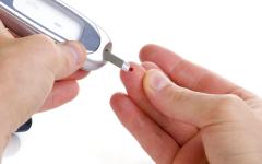 الصورة: نقص سكر الدم  وحالات مرضية نادرة الحدوث