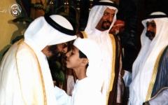 الصورة: زايد بن سلطان قائد الشباب الملهم