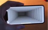 الصورة: فيديو.. آيفون X يتحول إلى حفرة عميقة