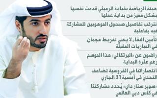 الصورة: راشد النعيمي: شخصنة الخلافات تضُر كرة الإمارات