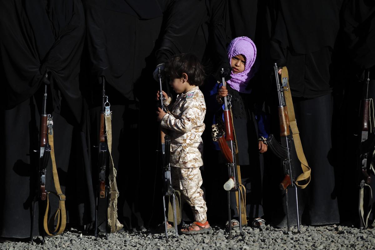 40% من الاطفال المجندين في اليمن من الفتيات