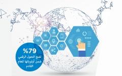 الصورة: التحول الرقمي في منطقة الخليج 2018