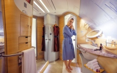 الصورة: الرفاهية على متن طيران الإمارات جواً