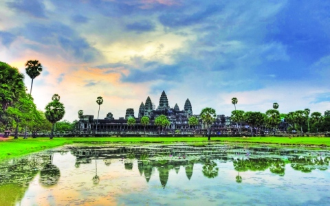 الصورة: كمبوديا وحدائقها الغنّاء
