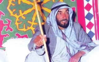 الصورة: «زايد» شخصية معرض أبوظبي الدولي للكتاب 28