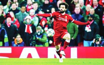 الصورة: محمد صلاح أفضل لاعب في فبراير