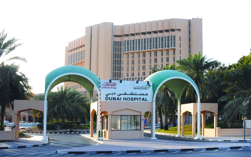 الصورة: أطباء مستشفى دبي ينجحون في إعادة بصر مريض