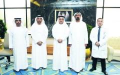 الصورة: «صحة دبي» تبحث سبل تعزيز التعاون والتواصل مع مركز دبي للطوارئ