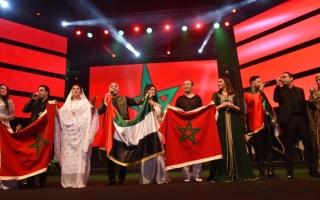الصورة: فنون التراث المغربي تتألق على كورنيش أبوظبي