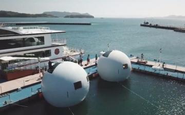 الصورة: بالفيديو.. «فنادق الكبسولات العائمة» مشروع ياباني يتحدى التسونامي
