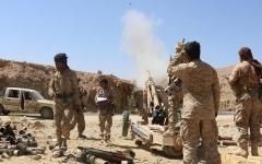 الصورة: مقاتلات التحالف العربي تدمر مخازن صواريخ للحوثيين بجبهة الساحل الغربي