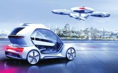 الصورة: مركبة طائرة ذاتية القيادة في المستقبل القريب