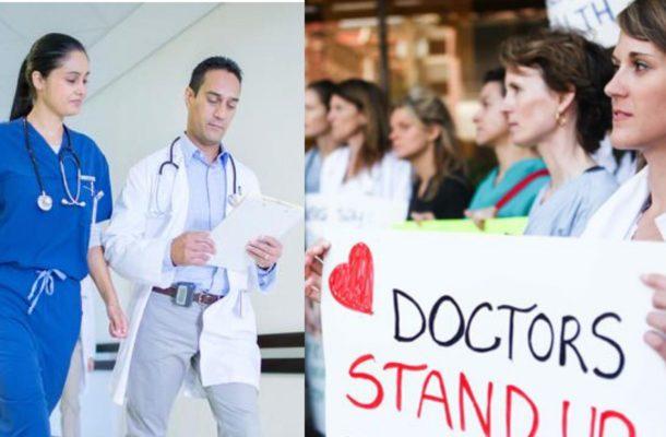 الأطباء فى كندا يحتجون على زيادة رواتبهم