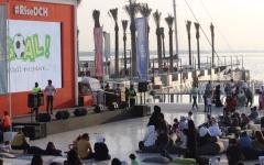 الصورة: 5 آلاف زائر لمهرجان فرحة كويتية في خور دبي