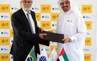 الصورة: البرازيل توقع عقد المشاركة في «إكسبو دبي»