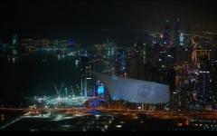 الصورة: صورة زايد تزين سماء دبي