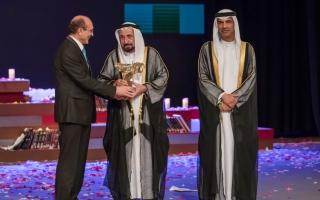 الصورة: سلطان القاسمي يشهد افتتاح «أيام الشارقة المسرحية»