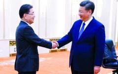الصورة: واشنطن تؤيد بقاء العقوبات على بيونغيانغ قبل القمة