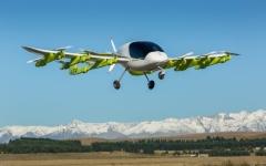 """الصورة: """"غوغل"""" تطلق سيارتها الطائرة (كورا) في نيوزيلندا"""
