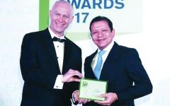الصورة: المشرق يفوز بجائزتين من «إيميا فايننس للخدمات المصرفية»