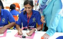 الصورة: منتخب سيريلانكا يشارك في فعاليات «الخدمات الإنسانية» بالشارقة