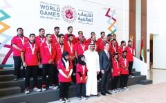 الصورة: «الألعاب الإقليمية» رسالة محبة وسلام من قلب أبوظبي