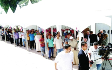 الصورة: إقبال كبير «لمصريي الخارج» على انتخابات الرئاسة