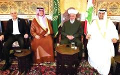 الصورة: مفتي لبنان يشيد بمواقف الإمارات والسعودية تجاه بلاده