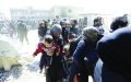 الصورة: عشرات القتلى بمجزرة جديدة للنظام في الغوطة
