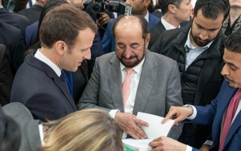 الصورة: الرئيس الفرنسي: الثقافة حجر الزاوية في علاقاتنا مع الإمارات