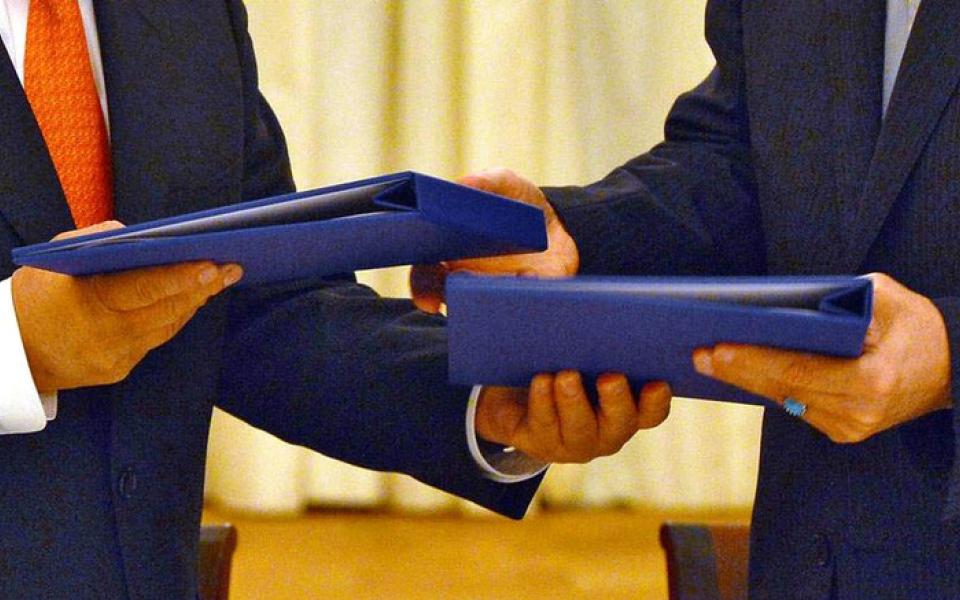 الصورة: أميركا تسعى إلى موافقة أوروبية على اتفاق تكميلي لـ«النووي» الإيراني