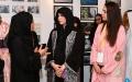 """الصورة: لطيفة بنت محمد تفتتح النسخة الثامنة من معرض """"سكة الفني"""""""