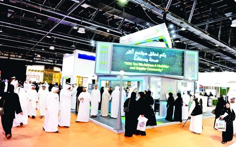 الصورة: مشاركة فاعلة لـ«صحة دبي» بمعرض الإمارات للوظائف