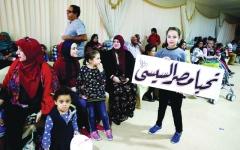 الصورة: المصريون في الخارج يُفشلون مخططات «أهل الشر»