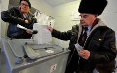 الصورة: فتح مراكز الاقتراع في موسكو في الانتخابات الرئاسية الروسية