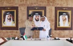 الصورة: «جامعة حمدان الذكية» و«دبي للموارد البشرية العسكرية» تدعمان بناء الإنسان