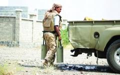 الصورة: التحالف: أدلة على تهريب إيران صواريخ للحوثي