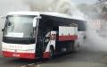 الصورة: فريق هواة يقاوم النيران ليلحق بمباراة