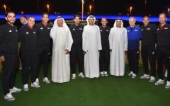 الصورة: اتحاد الكرة يحتفي بقضاة ملاعب المونديال في دبي