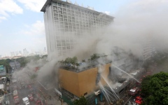 الصورة: 29 قتيلا وجريحا بحريق فندق في مانيلا