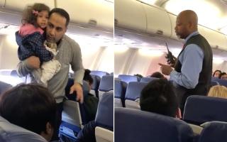 الصورة: شاهد.. شركة طيران تطرد عائلة بطريقة مهينة
