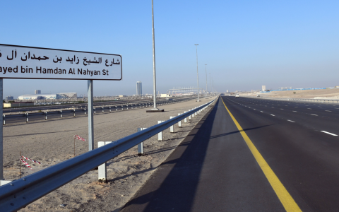الصورة: «طرق دبي» تفتتح امتداد شارع زايد بن حمدان غداً
