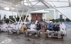 الصورة: محمد بن زايد: «الألعاب الإقليمية»  فرصة مثالية للاستعداد لـ«أبوظبي 2019»
