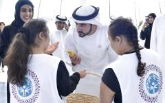 الصورة: حمدان بن محمد يشهد «الأولمبياد الخاص»