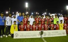الصورة: الجزيرة بطل كأس زايد الدولية للناشئين تحت 15 سنة