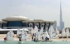 الصورة: «دبي البحري» ينظم سباقين  للشراعية الحديثة والمحلية
