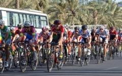 الصورة: سباق عام زايد للدراجات  في حديقة مشرف الجمعة