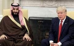 الصورة: ملفات ساخنة على طاولة ولي العهد السعودي وترامب