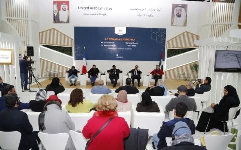 الصورة: «الرواية الآن» محور نقاشات موسعة  في«باريس للكتاب»..وفرنسيات يرتدين البرقع
